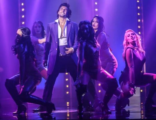 Ranveer Singh in Durex ad