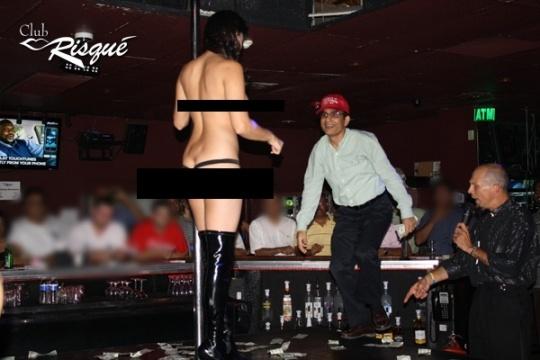 Sunny Leone at Club Risque