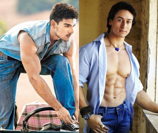 Sooraj Pancholi and Tiger Shroff