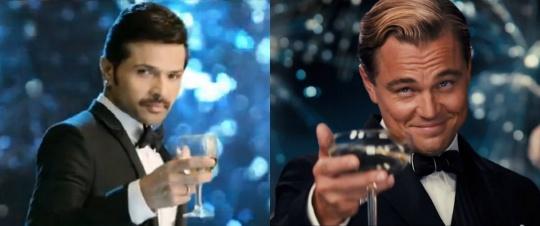 Himesh Reshammiya copies Leonardo DiCaprio