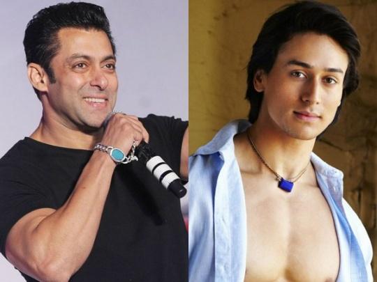 Salman Khan and Tiger Shroff