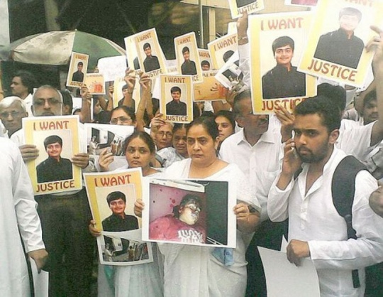 Dhaval Lodaya Protest