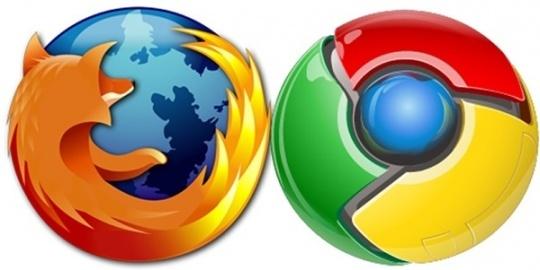 Firefox, Google Chrome
