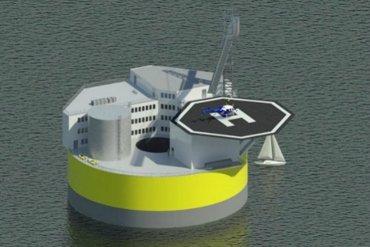 Floating Nuclear Plants