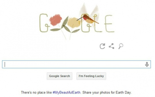 Google Doodle Celebrates Earth Day 2014