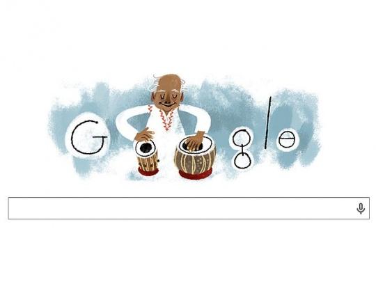 Google Doodle Alla Rakha