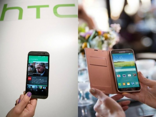 HTC One M8 Vs Samsung Galaxy S5