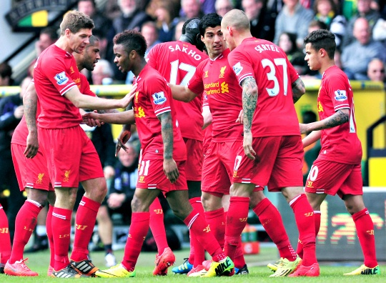 Liverpool Edge Norwich to Close On Title