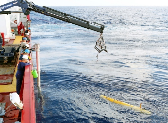 Two-Thirds of Underwater Area Searched for MH370
