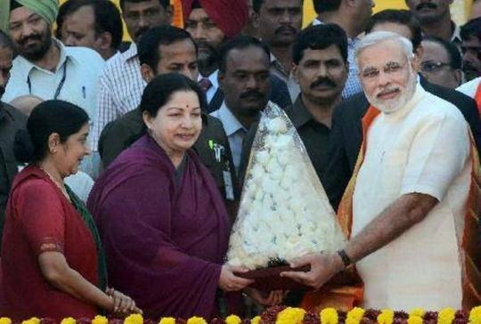 Narendra Modi jayalalitha