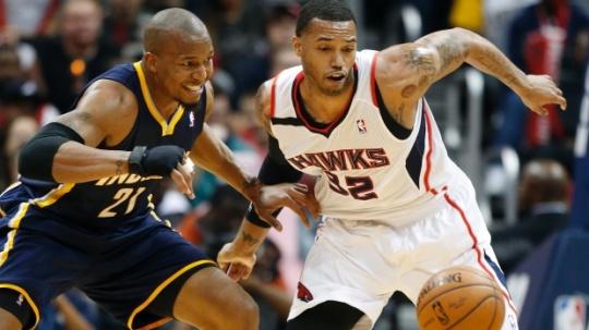 Pacers Beat Hawks In NBA