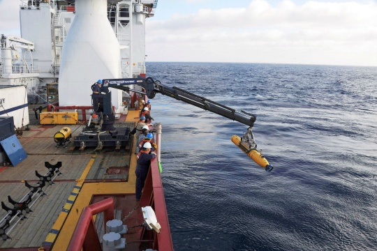 Robot Sub Makes First Complete Search