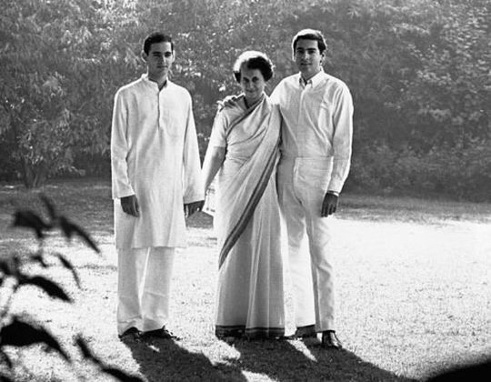 Rajiv, Sanjay Gandhi