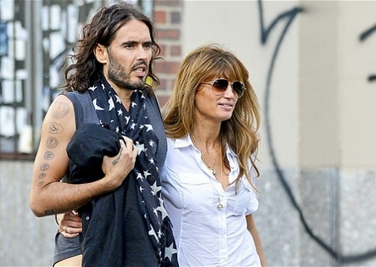 Russell Brand Wants Kids With Jemima Khan