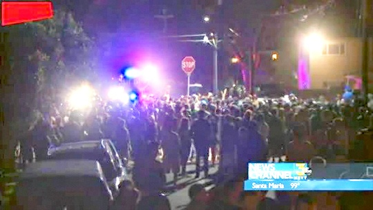100 Arrested in Southern California Brawl