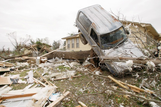 Tornadoes Strike Central, Southern US
