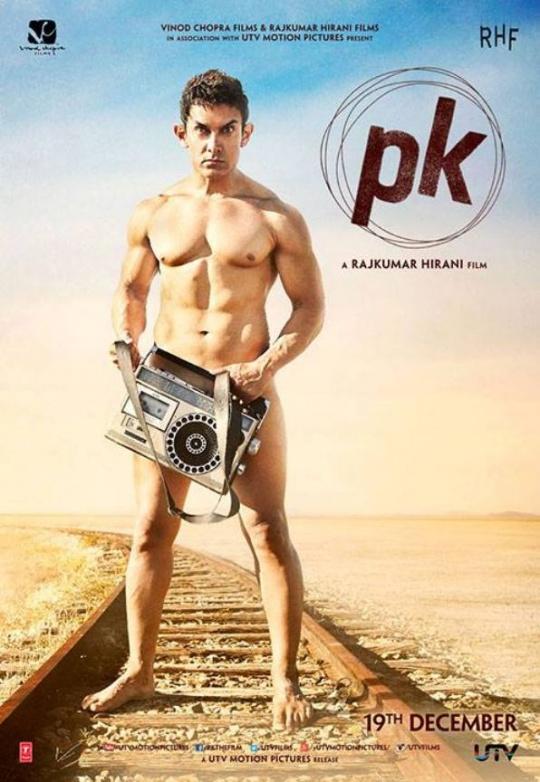 Aamir Khan PK poster