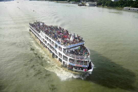 Bangladesh Ferry Sinks With 200 On Board