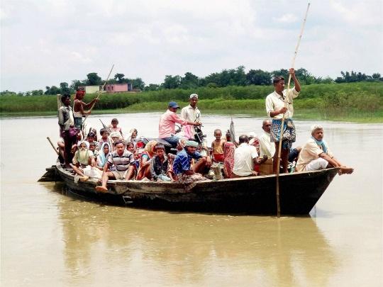 Flood Threat in 9 Bihar Districts Abates