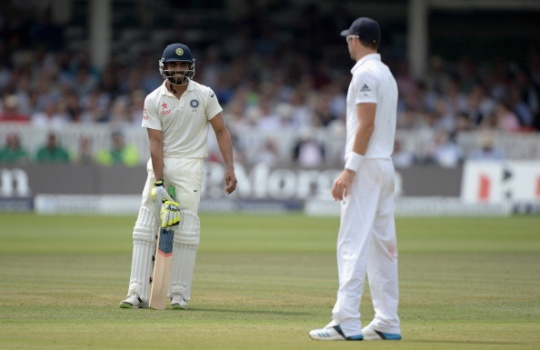 ICC Judicial Committee exonerated Ravindra Jadeja (left) and James Anderson from any wrongdoings
