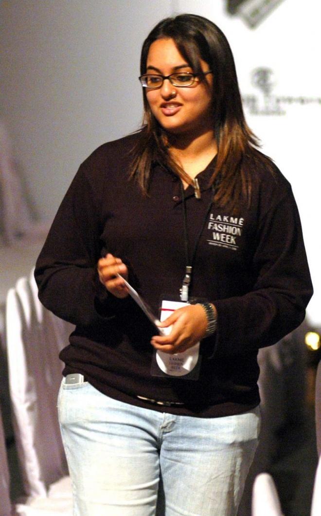Sonakshi Sinha in 2006