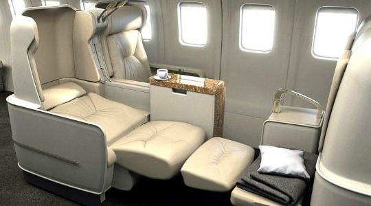 Lie-Flat Beds Aboard Abercrombie & Kent Private Jets