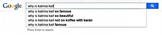 Katrina Kaif  search suggestions