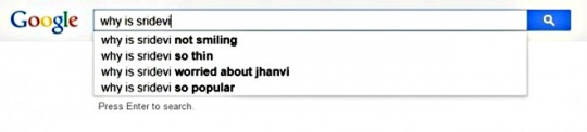 Sridevi  search suggestions