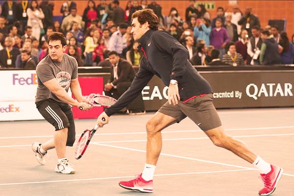 Aamir Khan and Roger