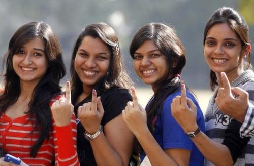 Voting pose