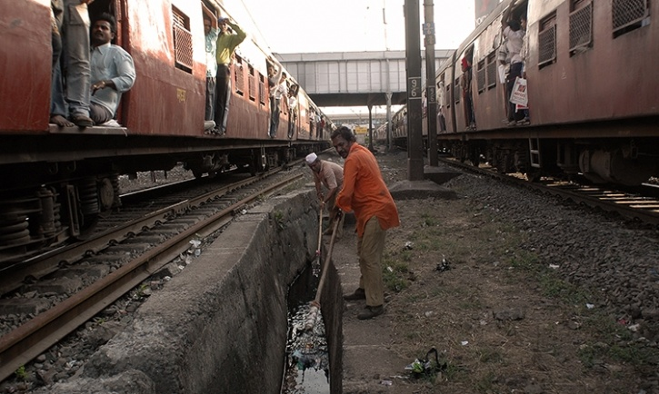 railway cleanliness