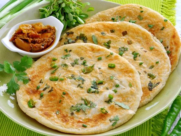Low-Fat Paneer Paratha Recipe