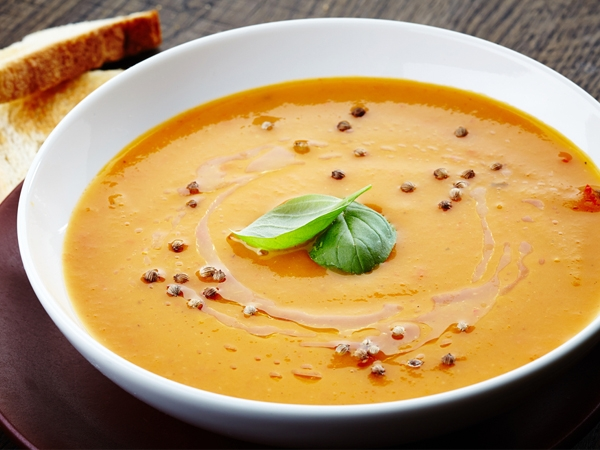 Low-Calorie Recipe: Carrot And Moong Dal Soup