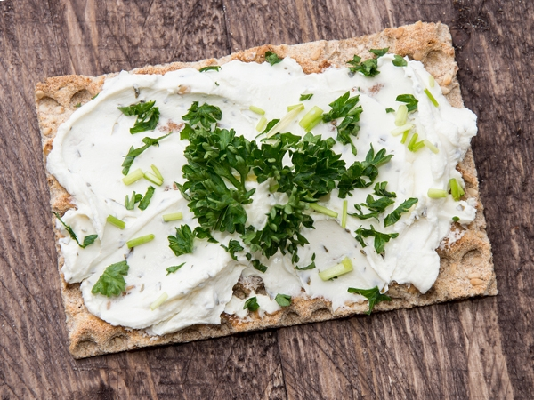 Herbed Cottage Cheese (Paneer) Spread