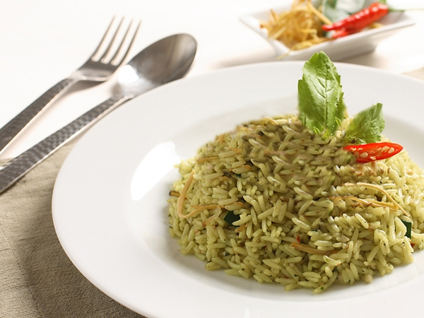 Green Thai Curry And Flavoured Rice Recipe
