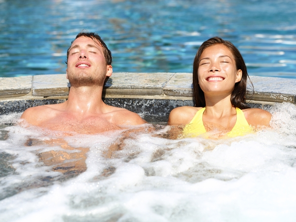 Try Jacuzzi Healing This Winter