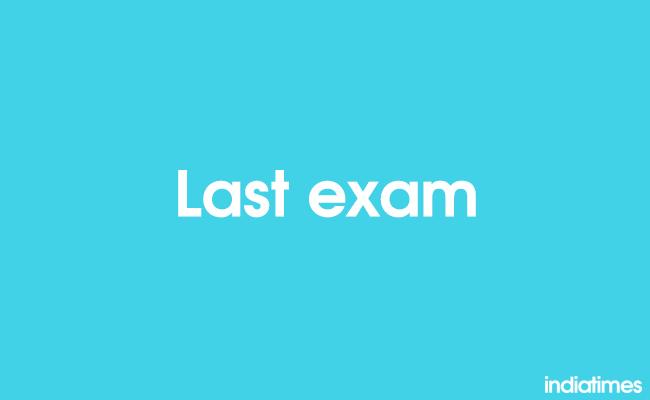 last exam
