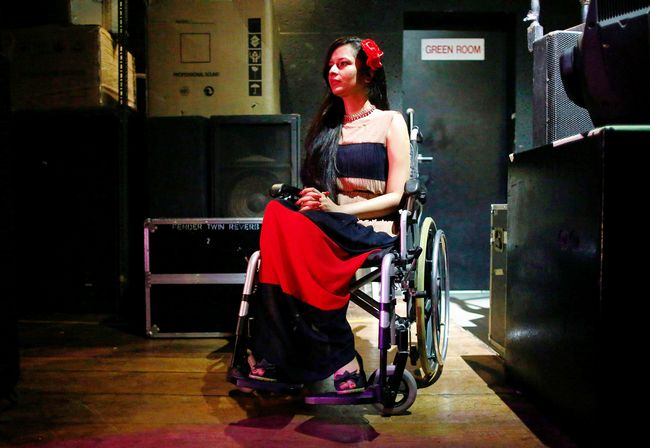 Wheelchair beauty pageant