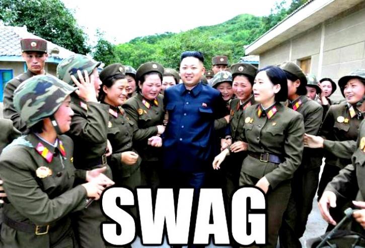 Swag mere North Korean