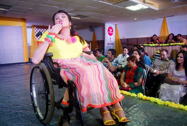 Wheelchair pageant