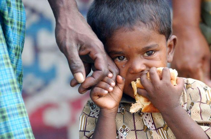 Tamil Boy Stops Crying