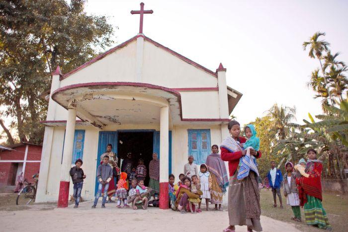 A church in Assam