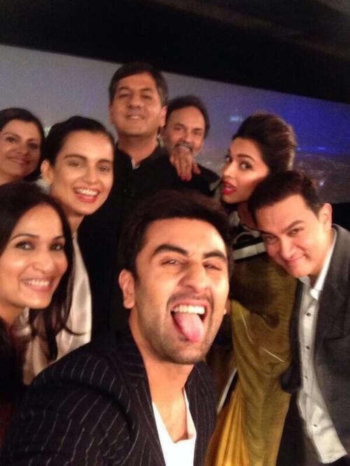 Bollywood selfie