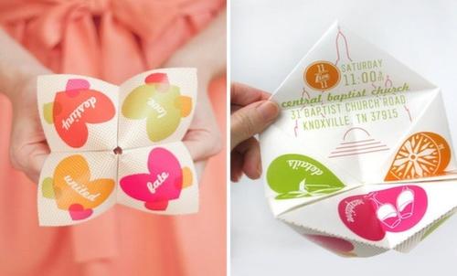 Creative wedding cards