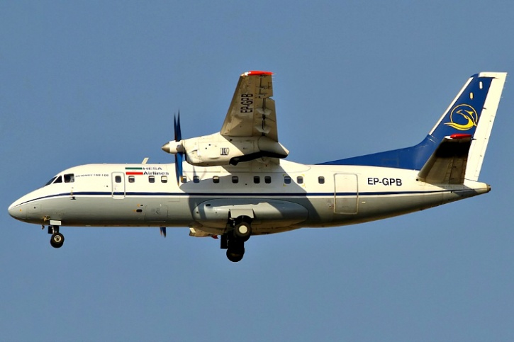 Aircraft similar to the plane involved in the accident.