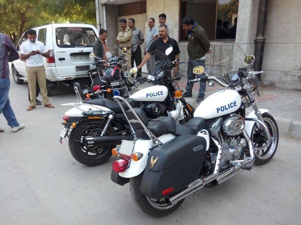 gujarat police new bikes