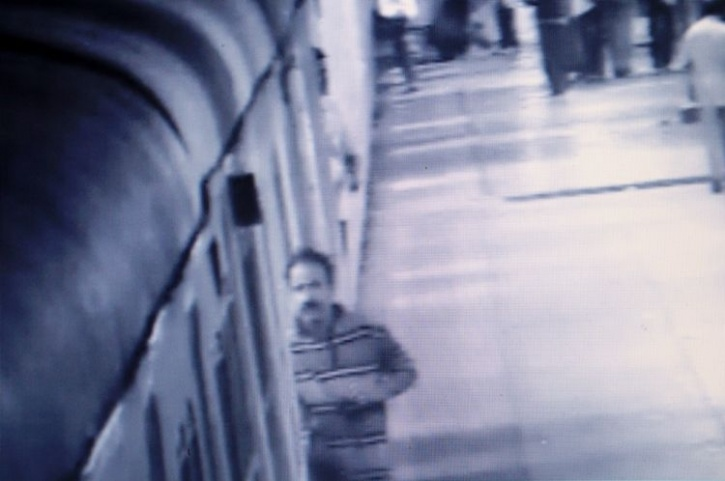 railway CCTV camera footage