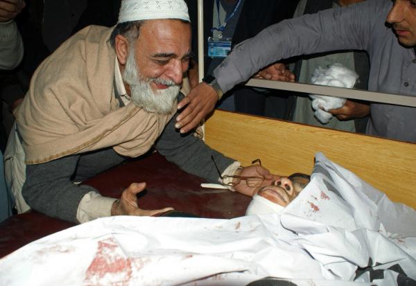 peshawar school death grief