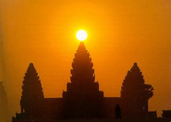 Wat temple cambodia
