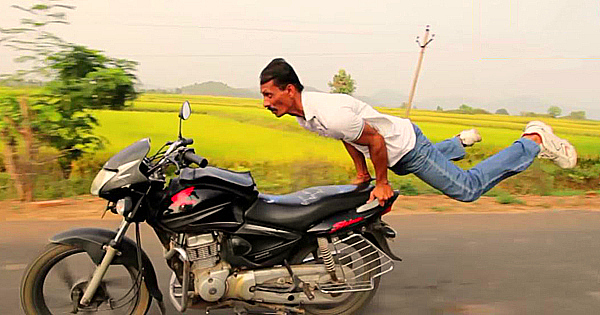 yoga biker